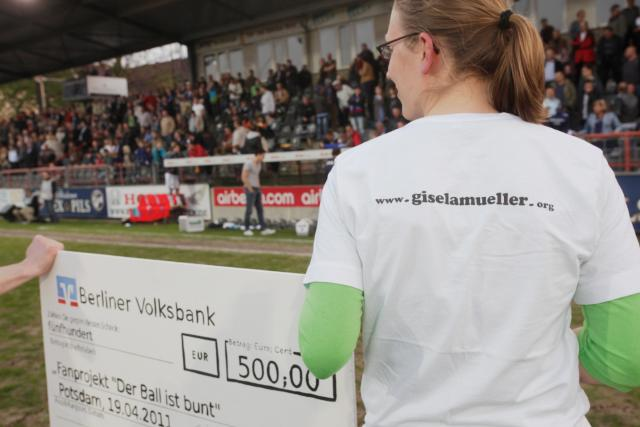Gisela Müller loves Nulldrei!